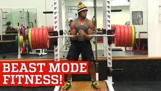Beast Mode Fitness & Box Jumps with Devonte Wilson