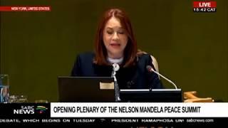 UN SG Antonion Guterres statement at Nelson Mandela Peace summit