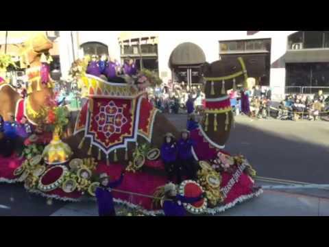2016 Rose Bowl Parade Donate Life float