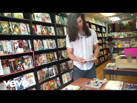 Robbyn Hart - Billy Raffoul loves comic books.
