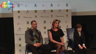 Пресс-конференция с участием главных героев фильма «Белые ночи почтальона Алексея Тряпицына»