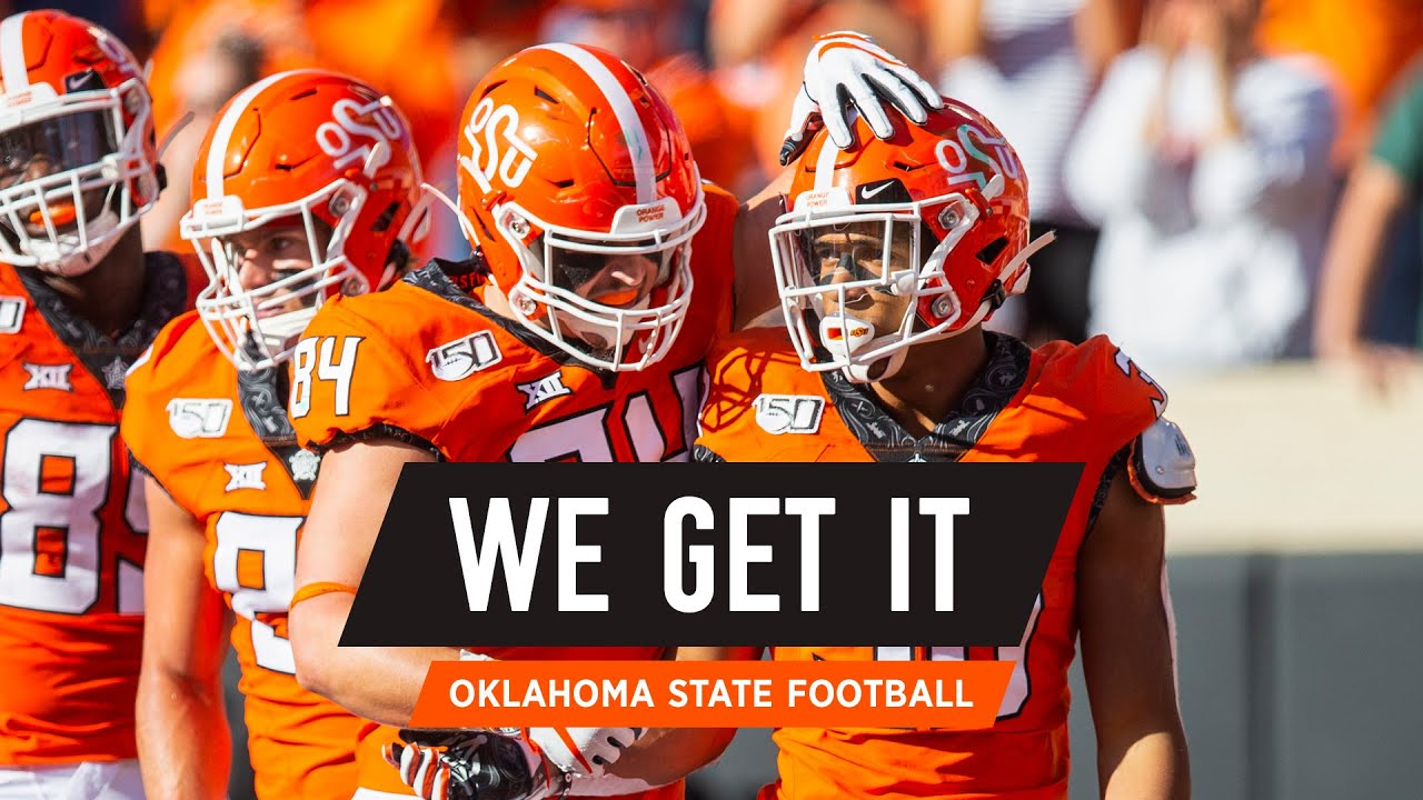 When You Re Here You Get It Oklahoma State Cowboy Football Youtube