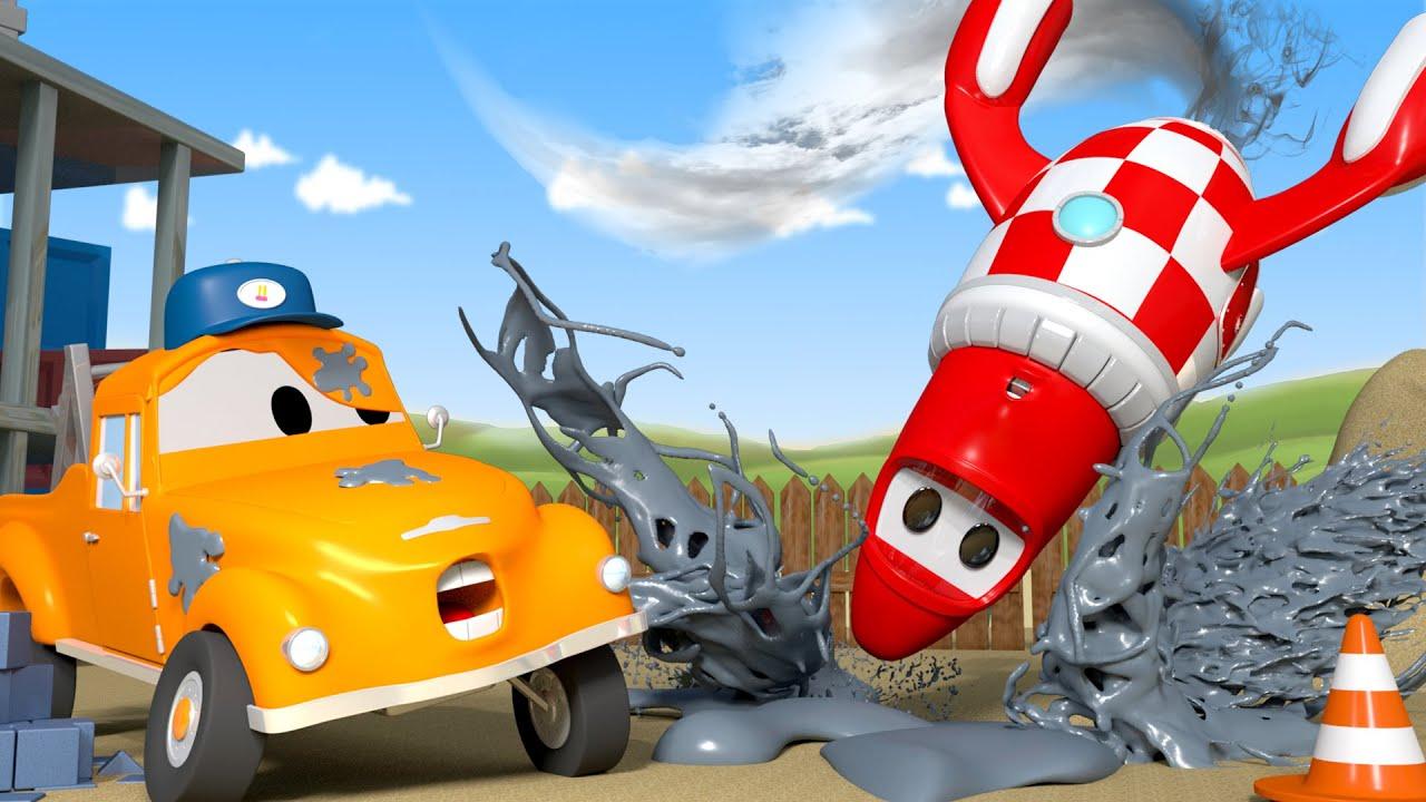 Rocky il razzo l autolavaggio di tom carro attrezzi a