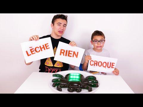 DÉFI CROQUER, LÉCHER