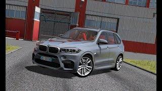 City Car Driving - BMW X5M F85 4.4 xDrive 2015 | Custom Sound | Day Drive | 1080p & G27