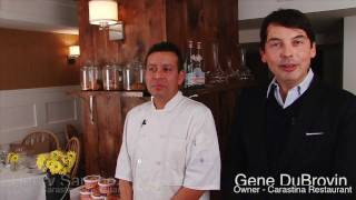 Kozy Shack Featured On Television Series Taste Of New York At Carastina Restaurant