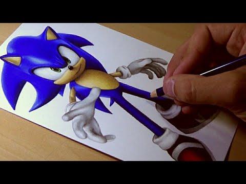 Drawing Sonic