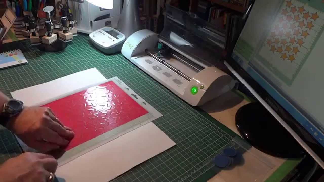 Stencil Making With A Cricut Youtube