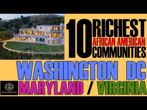 Black Excellist:  Top 10 Richest Black Communities in DMV (DC, Maryland, Virginia)