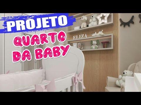 PROJETO DO QUARTO DA BABY ELIZA | Kathy Castricini
