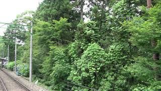 箱根登山鉄道モハ1形103-107号車引退記念ツアー前面展望