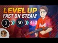 How To: Level Up FAST on Steam!