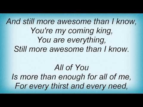 Jeremy Camp - Enough Lyrics