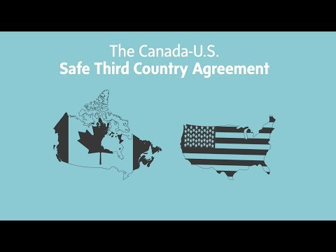 The Contentious Loophole In A Canada-U.S. Immigration Border Pact