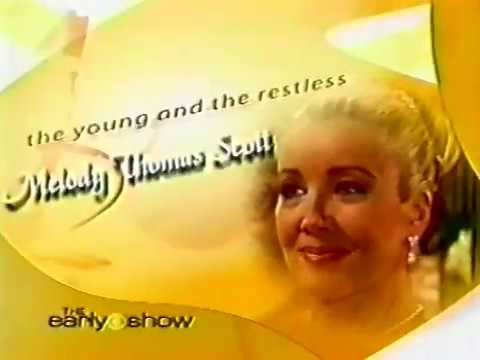 Melody Thomas Scott 2004 Interview 25 Years Of Nikki On Y&R (15 Years Ago)