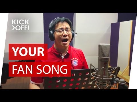 BEST FAN SONG EVER: Super Bayern! | Ge Hao from Shanghai