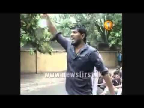 Attack on Sri Lanka University kids