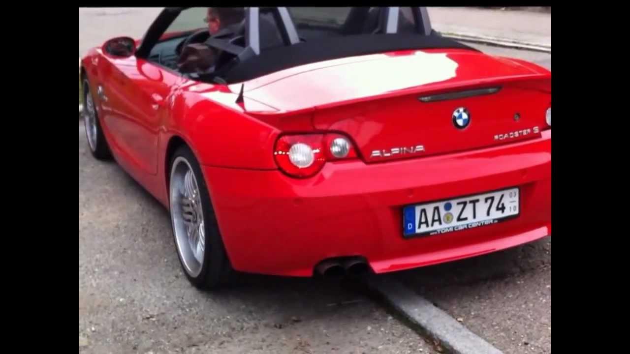 BMW Z4 Alpina Roadster S - YouTube
