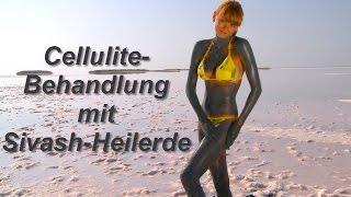 Cellulite-Behandlung mit Sivash-Heilerde - Orangenhaut natürlich bekämpfen - Anwendungsvideo
