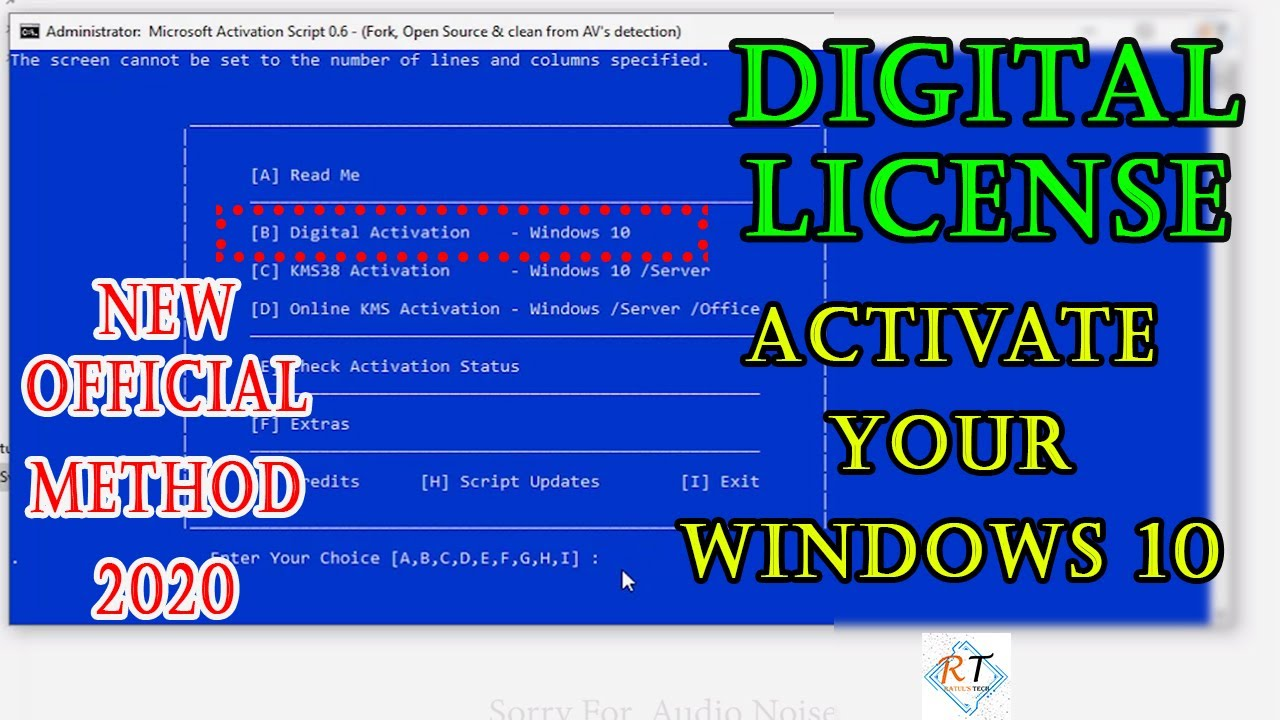 Windows 10 Activation By Digital license For 2021 ...