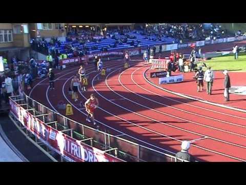 4x100m Männer Lauf 1 Team EM Bergen - 4x100m heat 1 - 19.06.2010 European Team Championships 2010