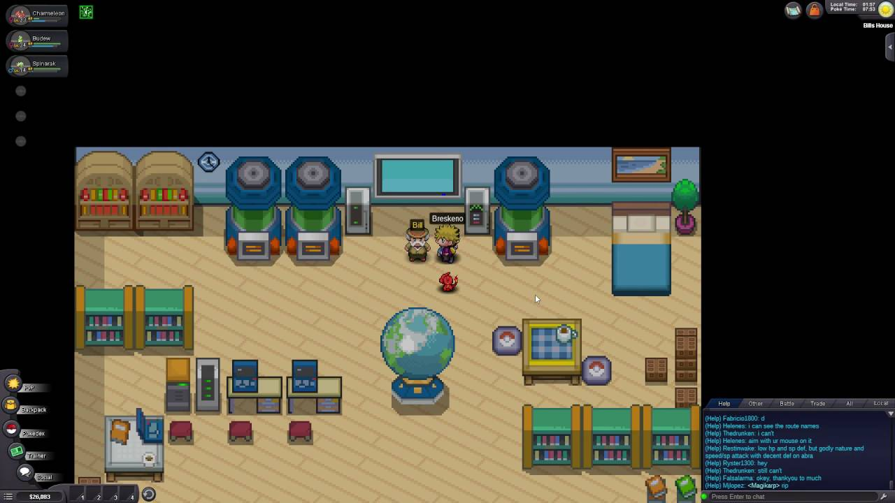 Pokemon revolution online where you can find bills book for Find a home online