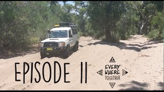 Ep. 11 Troopy in Byfield National Park and sailing the Great Keppel Islands - Everywhere Together