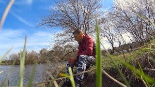 Рыбалка на закидушки.Рыбалка весной 2017.