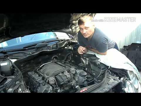 #carcityaвто Mercedes W211.КАК ИЗБАВИТЬСЯ ОТ ТЕЧИ КЛАПАННЫХ КРЫШЕК РАЗ И НА ВСЕГДА.®️