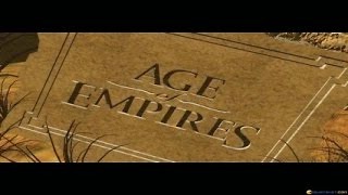 Age of Empires gameplay (PC Game, 1997)