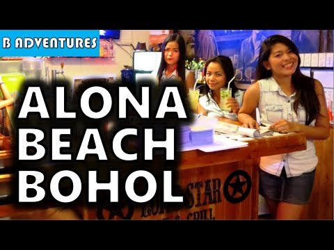 Alona Beach Dinner, Panglao Bohol, Philippines S3, Vlog #80