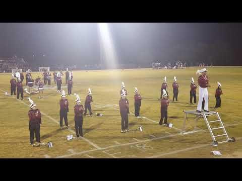 La Pryor High School Band and Bulldog football team 2017 @ Leakey