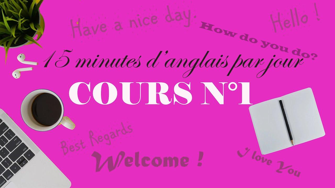 Download Cours d'anglais débutant numéro 1
