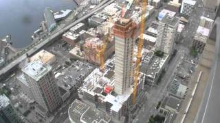Russell Investment Center Construction Timelapse (formerly WaMu Bank Center)