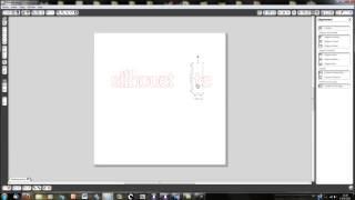 Silhouette Caméo - Ecrire avec Silhouette Studio