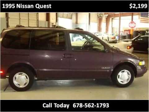 1995 nissan quest used cars conyers ga youtube for Turn and burn motors