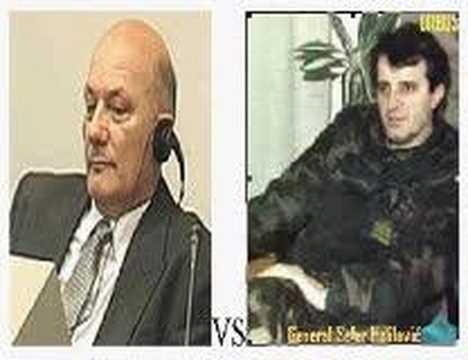 HVO Milivoj Petkovic VS  ARBiH Sefer Halilovic
