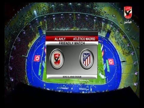 """مباراة الاهلى امام اتلتيكو مدريد 3-2 """" كاملة """" السلام ضد الارهاب"""