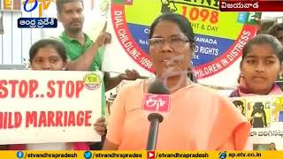 National Girl Child Day Held in Stella College | Vijayawada