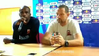 Sriwijaya FC vs Madura United, Dejan: Sriwijaya tak Pantas di Liga 2