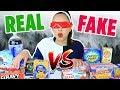 DOLLAR STORE vs BRAND FOOD BLINDFOLDED CHALLENGE | Mar
