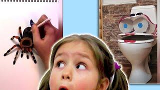 ЛУЧШИЕ ВИДЕО и ЛАЙФХАКИ из ТИКТОКА и ЛАЙКА! 3d рисунки LIKE TIK TOK ЧЕЛЛЕНДЖ НЕ СКАЖИ ВАУ и Яна