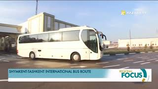 Shymkent-Tashkent international bus route