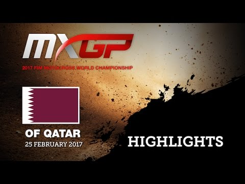 2017 MXGP of Qatar News Highlights - mix ENG #Motocross