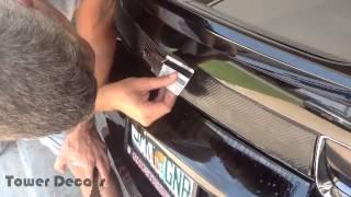 2010-2014 Camaro Trunk Blackout Kit