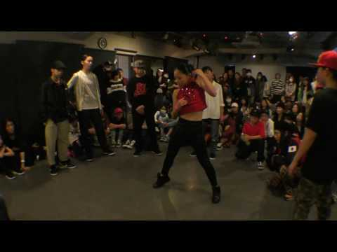 ReiNa 未悠 AOI Miss Twiggz 2R / DANCE@LIVE 2017 KIDS KANTO CLIMAX DANCE BATTLE