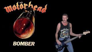 Bomber - Motörhead, free style bass cover