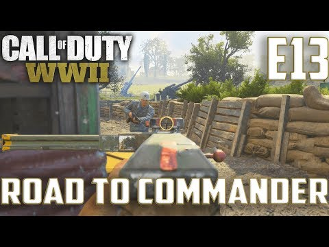 Call Of Duty World War 2(RTC)PS4 Ep.13-DOM On Sainte Marie Du Mont(Waffe 28 Soggy Gameplay)