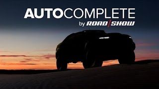 AutoComplete: GM teases its Army-spec Colorado fuel cell concept