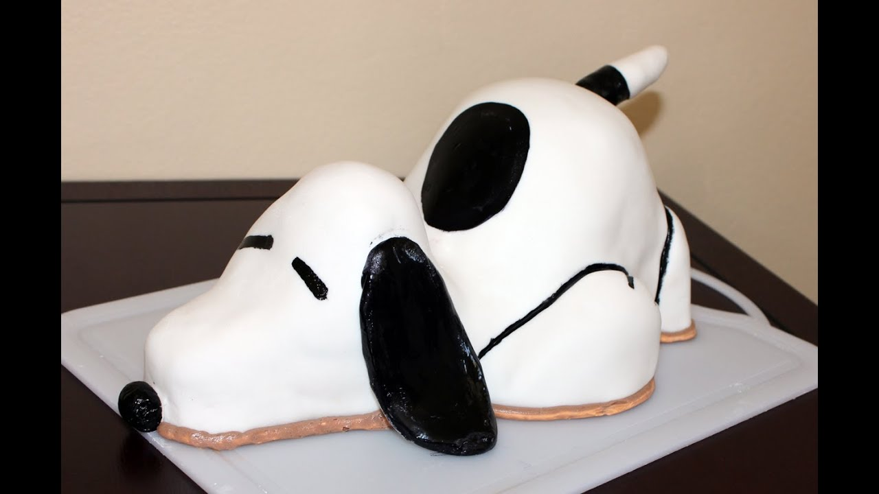 Snoopy Cake How To Youtube